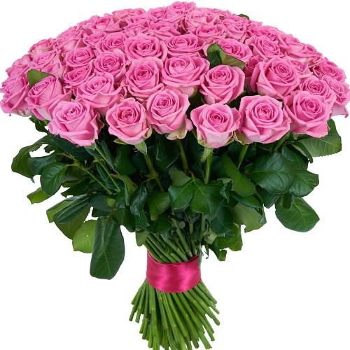 Купить на заказ Заказать Букет из 101 розовой розы с доставкой по Темиртау с доставкой в Темиртау