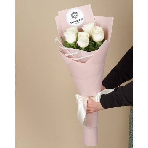 Купить на заказ Заказать Букет из 5 роз с доставкой по Темиртау с доставкой в Темиртау
